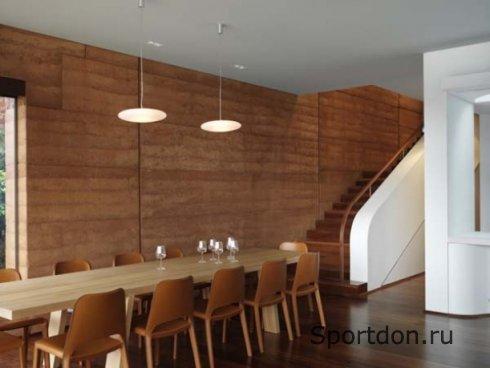 Деревянный дом: отделка стен
