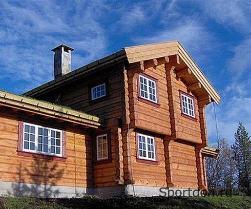 Деревянный дом из лафета. Норвежская технология
