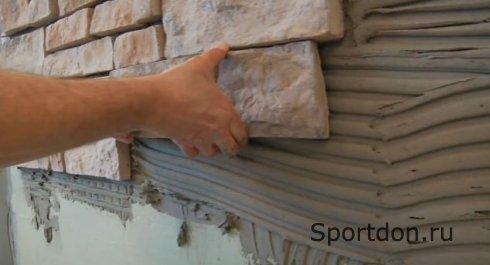 Искусственный камень в интерьере и экстерьере дома