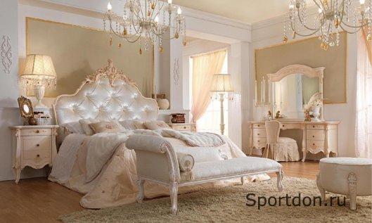 Какую мебель лучше купить для элитной спальни