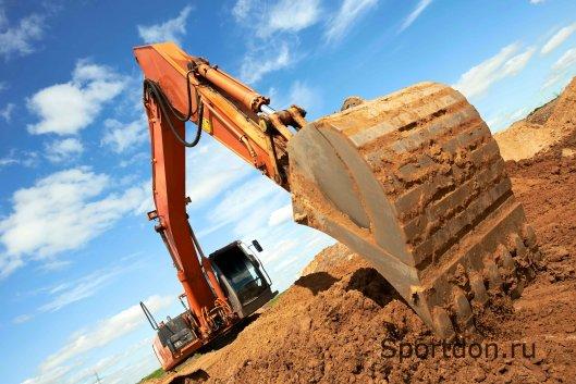 Экскаваторы для строительных работ