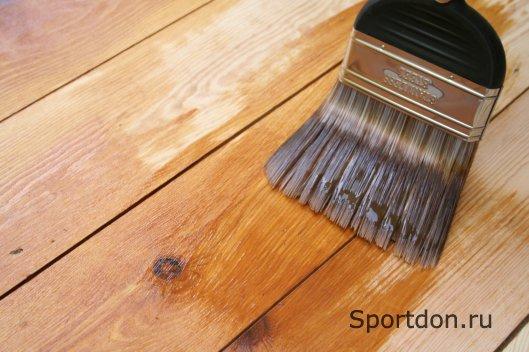 Разнообразие способов и покрытий для защиты древесины