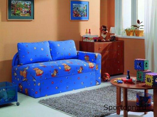 Практические диваны для детских комнат