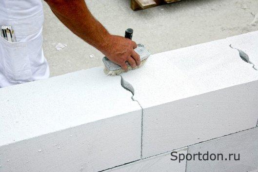Газобетон - один из современных строительных материалов