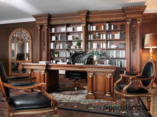 Резная мебель в современном интерьере