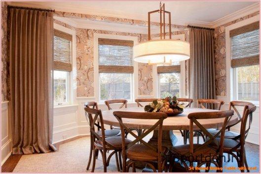 Обеденный стол – неотъемлема часть каждого дома