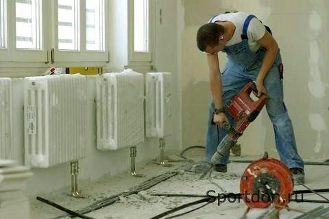 Этапы работ по монтажу системы отопления