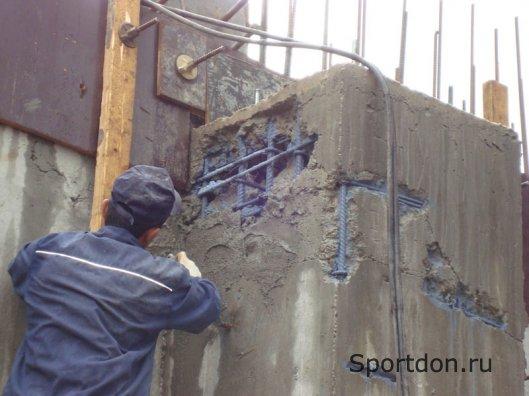 Повреждения железобетонных конструкций